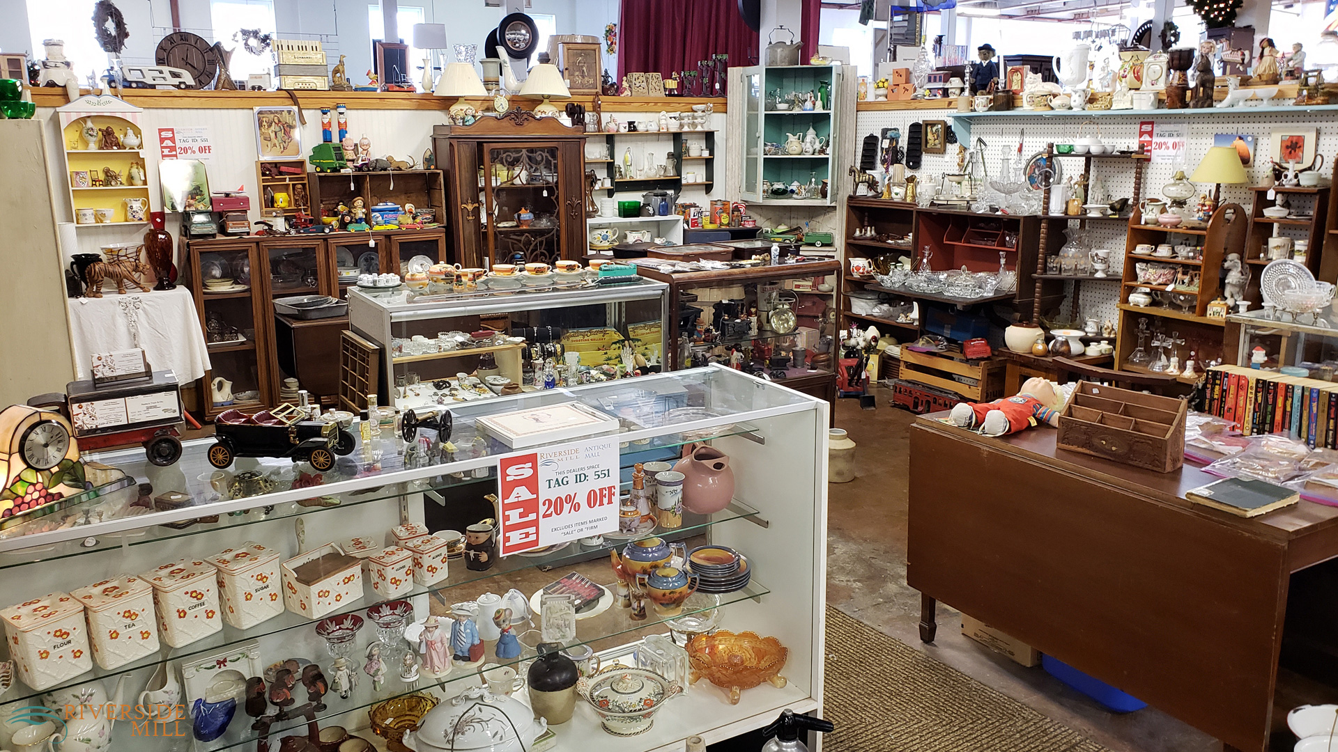 Riverside Mill Antique Mall in Weldon, NC